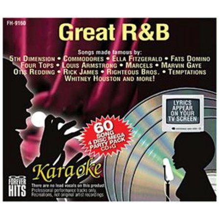 EMERSON 9160 Famous Hits Great R&B Karaoke CDG  11/27/2016