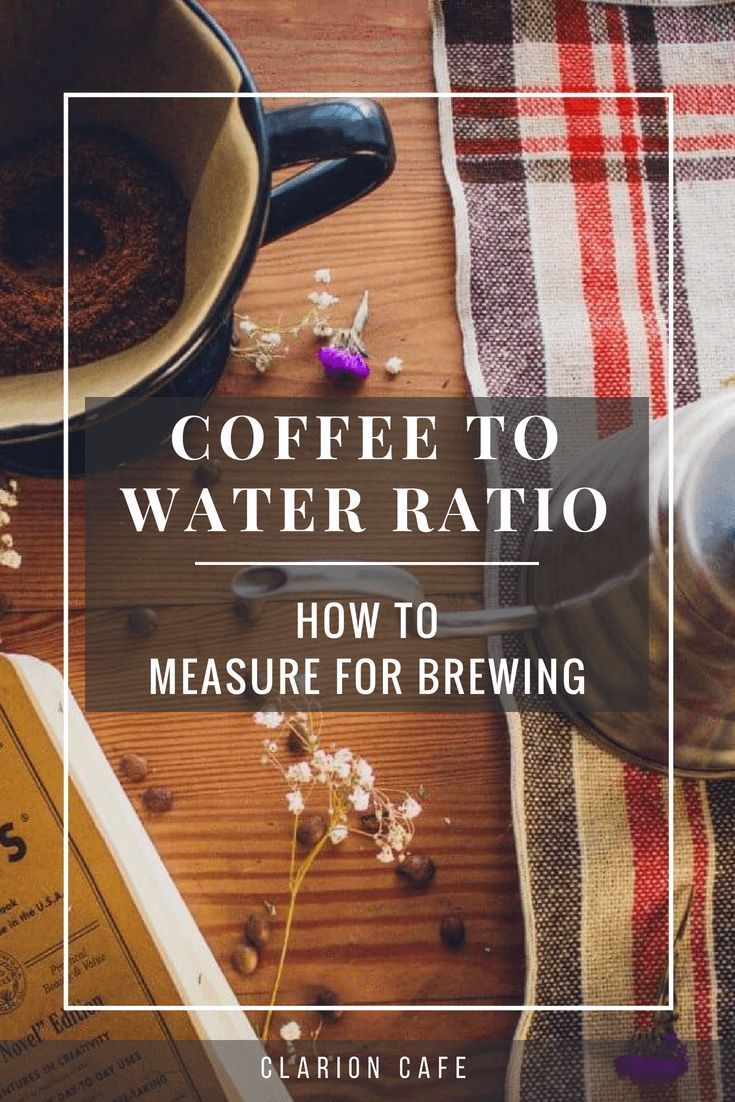 47+ What is the correct coffee to water ratio ideas