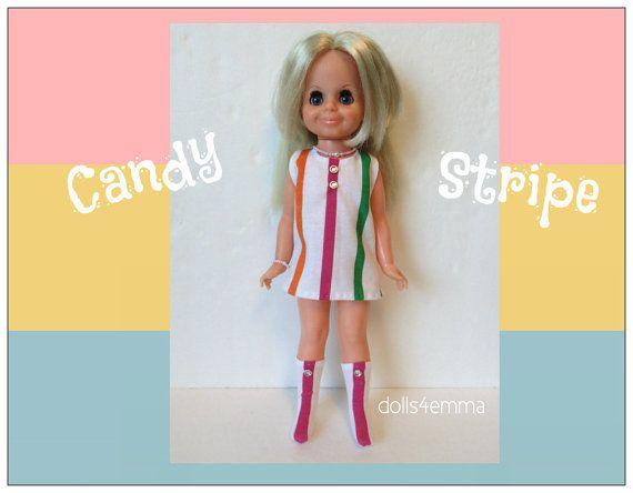 Vintage ideale VELVET Doll KLEDING - Retro Kleding, laarzen en sieraden - handgemaakte Custom Fashion - door dolls4emma