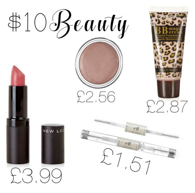 """#10dollarbeauty"" by dreamygal789 on Polyvore featuring New Look and e.l.f."