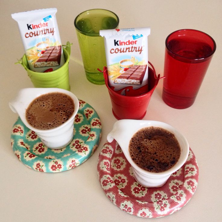 Kinder & coffee