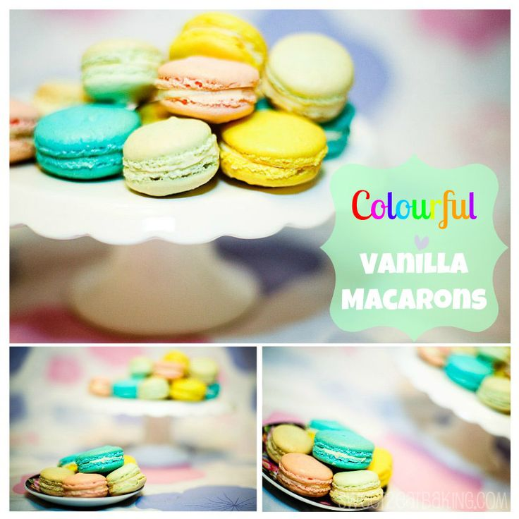 Vanilla Macarons Or Vanilla Macaroons, if you prefer? I prefer to say macarons since macaroons can be confused with a different dessert. Hello, English Coconut Macaroons anyone? This is my very fir...