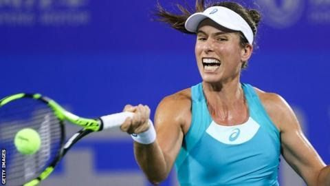 Johanna Konta was knocked out in the first round of the US Open in August  British  number one Johanna Konta's poor run continued as she was beaten by  unseeded Ashleigh Barty in the second round of the Wuhan Open in China.  World number seven Konta had the chance to serve for the match but lost 6-0 4-6 7-6 (7-3) to the Australian. The 26-year-old has lost five of her past seven matches since reaching the Wimbledon semi-finals. Defending champion Petra Kvitova also fell as she lost her…