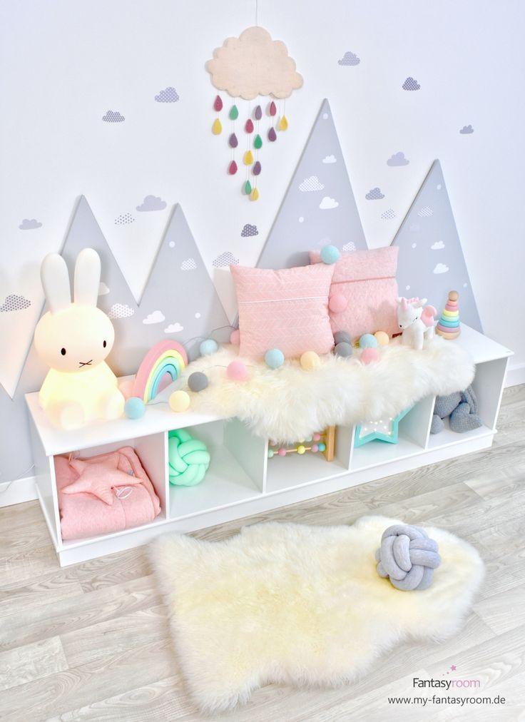 Build mountains in the nursery  – Kinderzimmer Inspiration