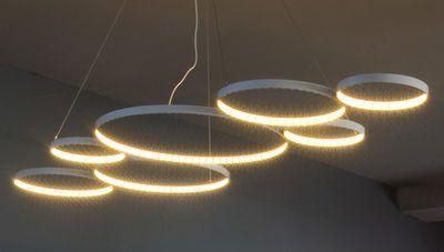 Suspension Ultra8 / LED - 180 x 50 cm Blanc - Le Deun - Décoration et mobilier design avec Made in Design