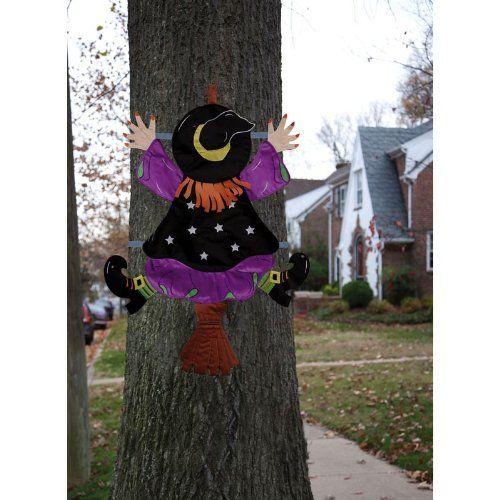 Witch Splat Tree Wrap - Halloween Decorations - 55 Best Images About Halloween Decorations Choice On Pinterest
