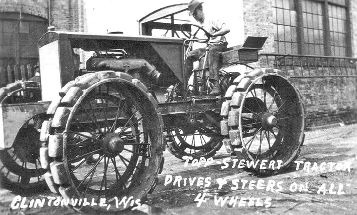 Vintage Front Wheel Drive Tractors : Best images about four wheel drive on pinterest cars