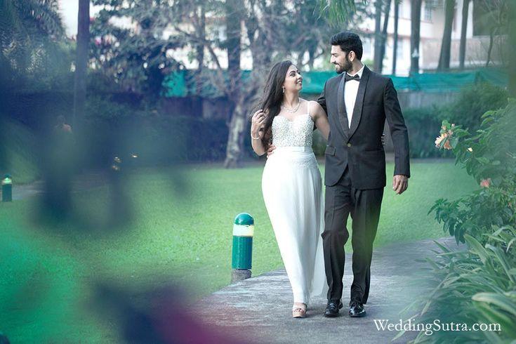 Samah & Anuj's Pre Wedding Photoshoot at Taj Land's End, Mumbai for WeddingSutra.