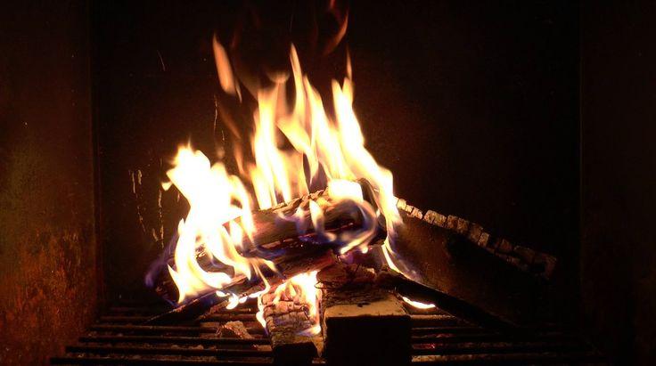 Beautiful Fire: Windy Flames