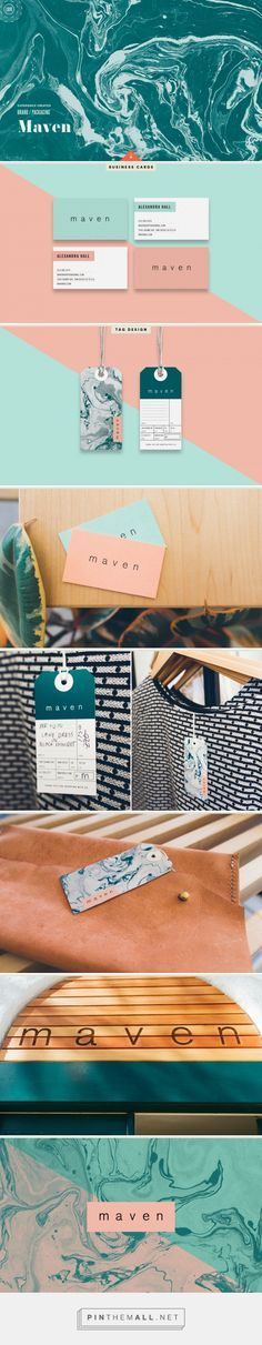 Maven Fashion Boutique Branding by Cody Small | Fivestar Branding Agency – Design and Branding Agency & Curated Inspiration Gallery