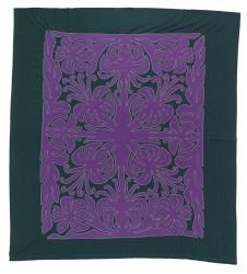 Tivaevae manu (embroidered quilts)