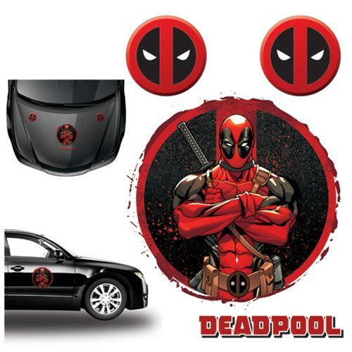 Deadpool Car Graphics Set - Elephant Gun - Deadpool - Car Accessories at Entertainment Earth
