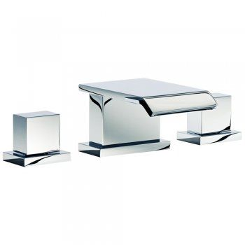 Astini Vent Waterfall 3 Hole Basin or Bath Mixer Tap 22510A - Astini from TAPS UK