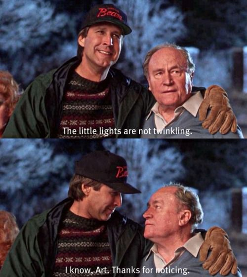 National Lampoons Christmas Vacation. Always loved this part