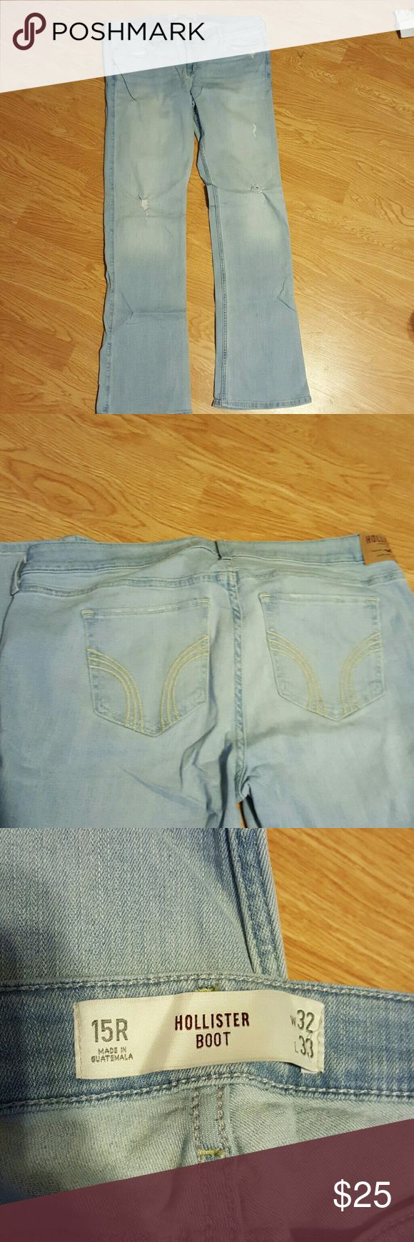 Hollister boot cut jeans size 15R HOLLISTER boot cut jeans size 15R Hollister Jeans Boot Cut