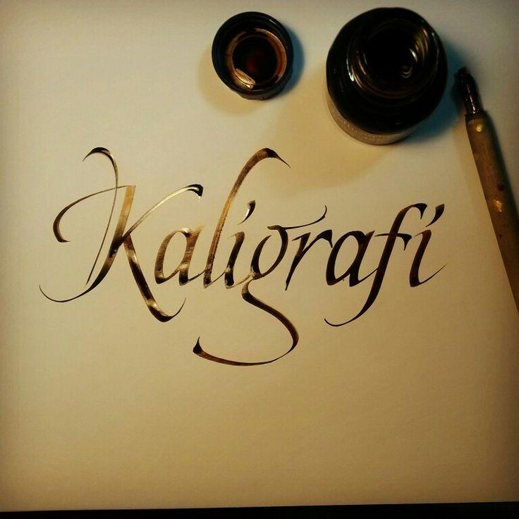 Kaligrafi Akın İşcan #kaligrafi #eğitim #davetiye