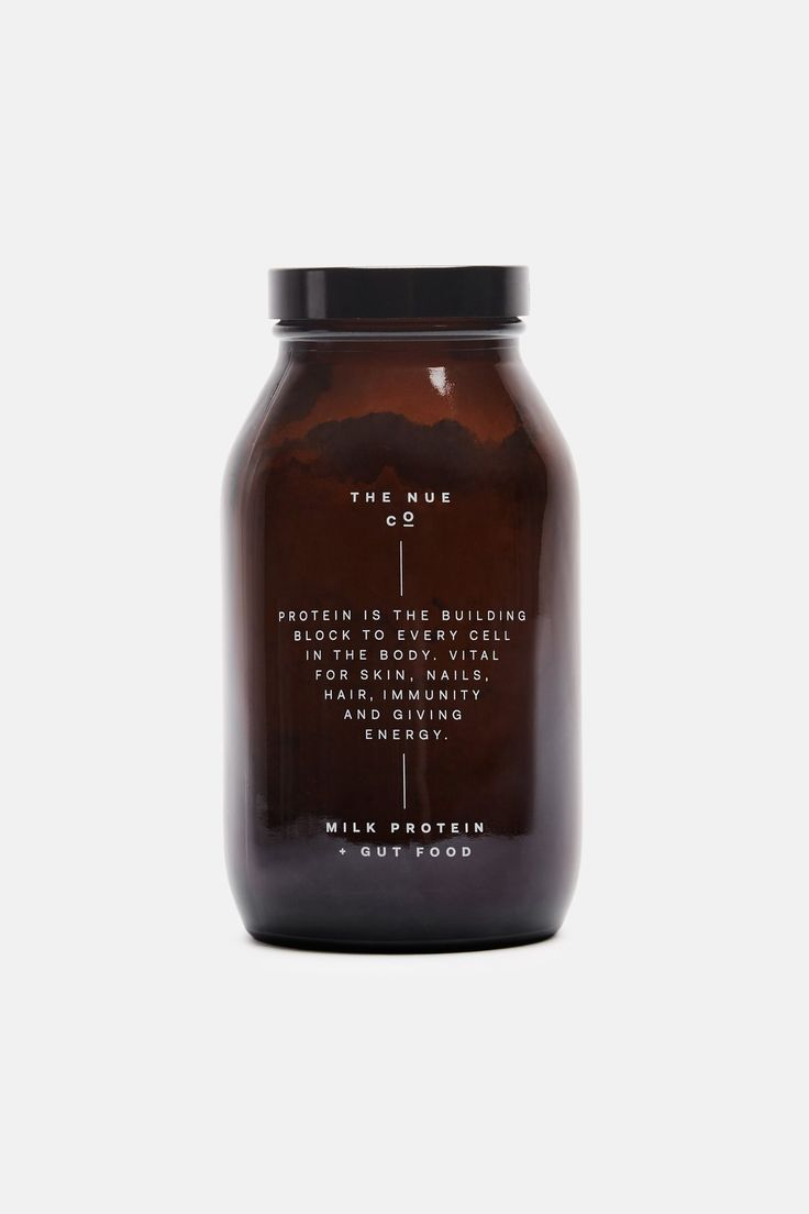 minimal packaging » Milk Protein + Gut Food