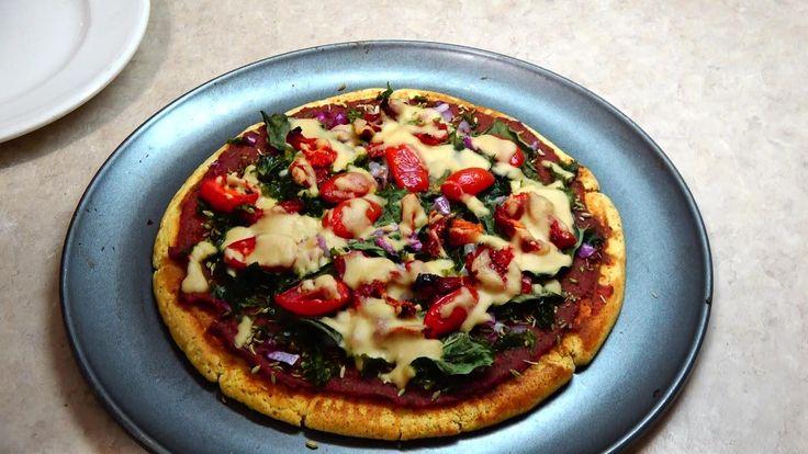 Chickpea Pizza Crust/ Chef Mama Rosa