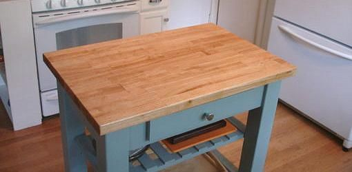 How To Clean and Oil Butcher Blocks for Use in the Kitchen: This applies to butcher block cutting boards, built-in butcher blocks and butcher block kitchen carts.