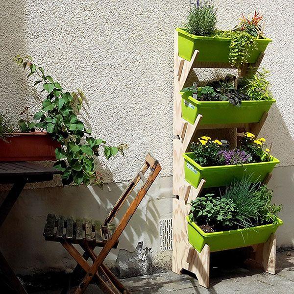 Vertikale Garten Vertikalbeet Hochbeet Balkonmobel Gartenmobel In 2020 Vertikaler Garten Vertikalbeet Vertikaler Garten Diy