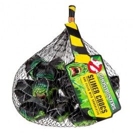 Ghost Busters chocolates in a net, a great treat for the party tabel this Halloween.
