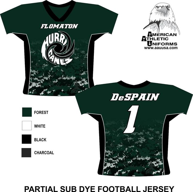 Football Uniform Custom