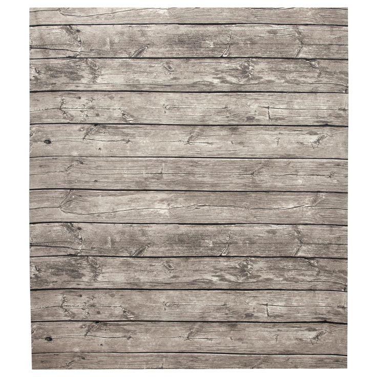 LISEL Plastic-coated fabric - IKEA wood effect