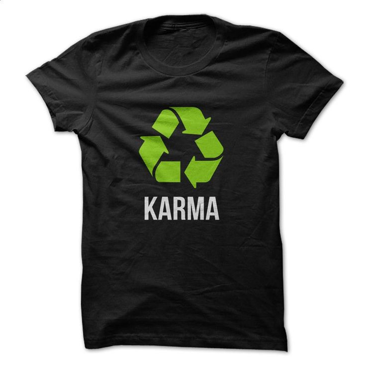 Karma Tee T Shirts, Hoodies, Sweatshirts - #champion hoodies #sweatshirt design…