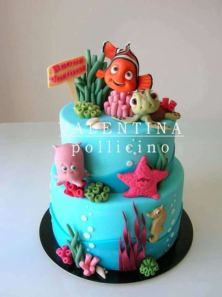 Cake Design Nemo : 539 best images about Cakes - Under the Sea on Pinterest ...