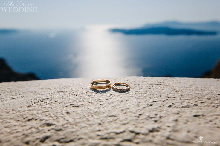 I love you Santorini