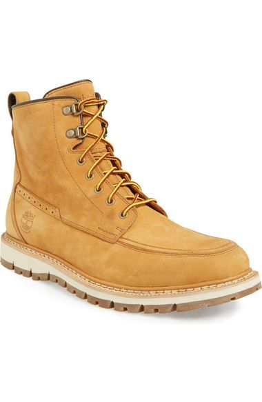 Timberland 'Britton Hill' Moc Toe Boot (Men) available at