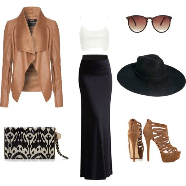 """Chic & Classic taba evenings"" by vasiliki-vslk on Polyvore"