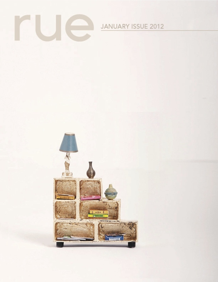 Rue January 2012 E Magazinemagazine Onlinemagazine