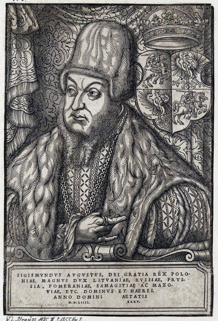 King Sigismund II Augustus aged 35 by Monogrammist HS (Hans Sauerdumm?), 1554 (PD-art/old), Germanische Nationalmuseum