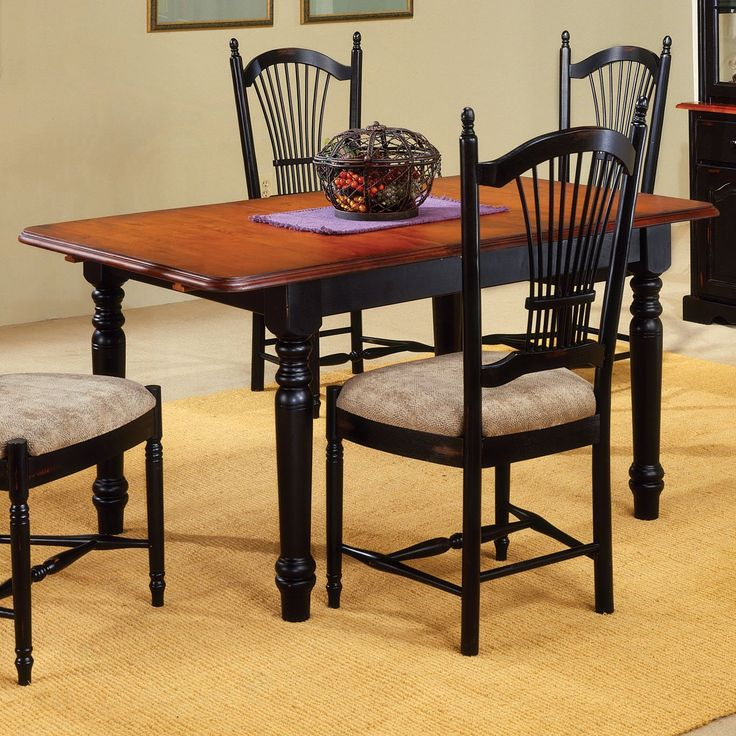 Shop Sunset Trading Andrews Rectangular Dining Table With Butterfly Leaf At ATG