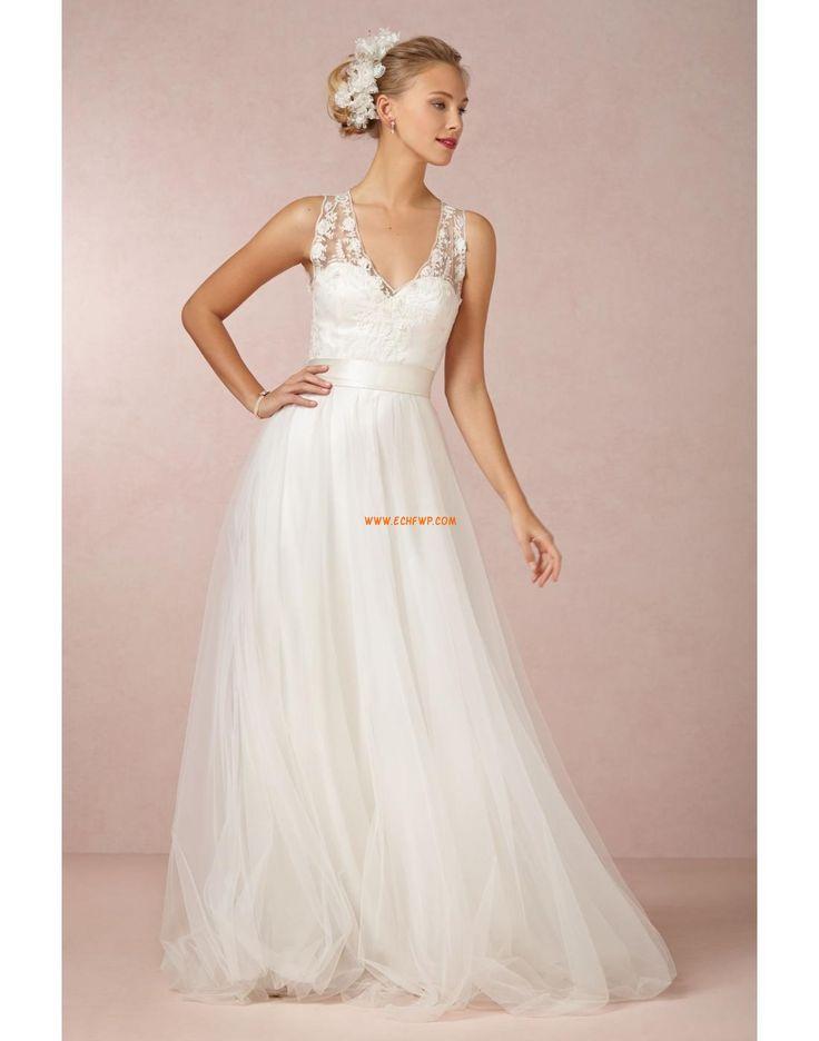 Hala Tyl Elegantní & moderní Designer Svatební šaty