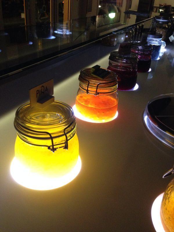 Banco Yogurt illuminato - La Mukkeria