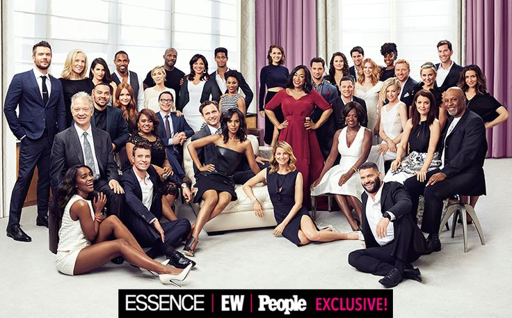 ShondaLand foto: EW estreia elenco de Anatomia, Escândalo do cinza, How to Get Away With Murder juntos | EW.com