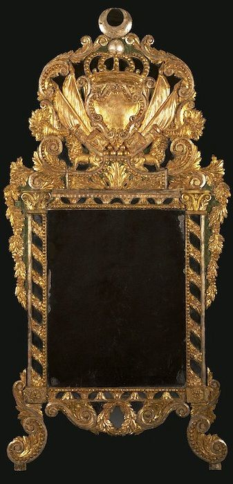 Carlton Hobbs LLC, A magnificent and extremely rare mirror bearing the arms of the Ottoman Empire, made during the reign of Muhammad Ali Pasha  Its crest bears the Khedival crown and arms of Muhammad Ali Pasha al-Mas'ud ibn Agha (March 4, 1769 – August 2, 1849).