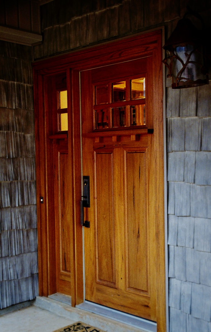 Arts And Crafts Front Door Arts Crafts Style Pinterest