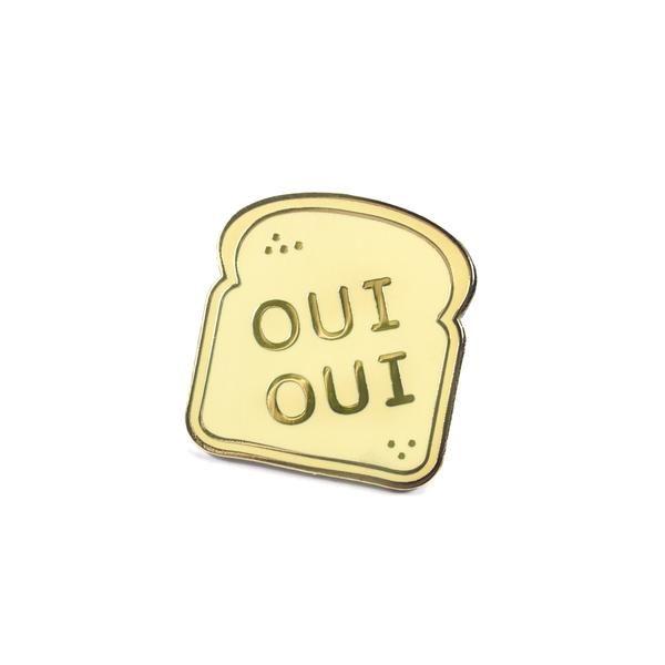 French Bread Lapel Pin