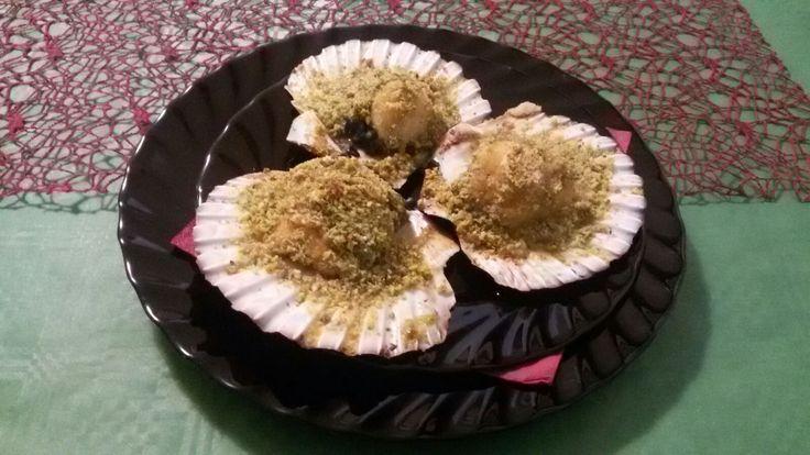 CAPPE SANTE in granella di pistacchio-sicily food