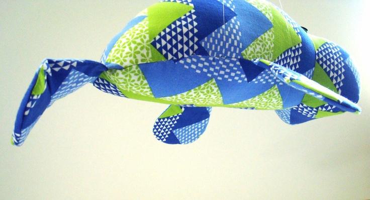 Zigzag Manatee by KittyKittyCrafts on Etsy
