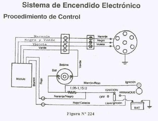 CAJA DE ENCENDIDO 5A 4 TERMINAL
