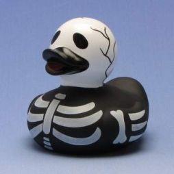 Skelett Badeente - skeleton Rubber Duck