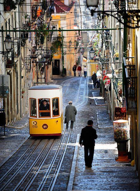 Street Car, Lisbon, Portugal