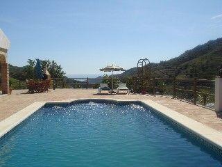 Competa, Andalusien, 6 pers. Strand: 5 min kørsel, Restaurant & by: 3 km (DKK 11.819 for 10 dage i okt)