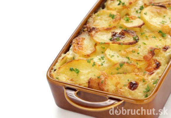 Zapečené dijonské zemiaky