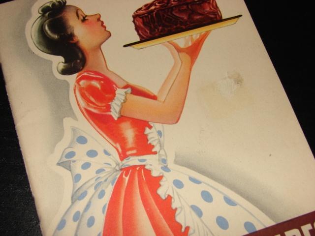 1940 Hershey's Recipes cookbook vintage #vintage