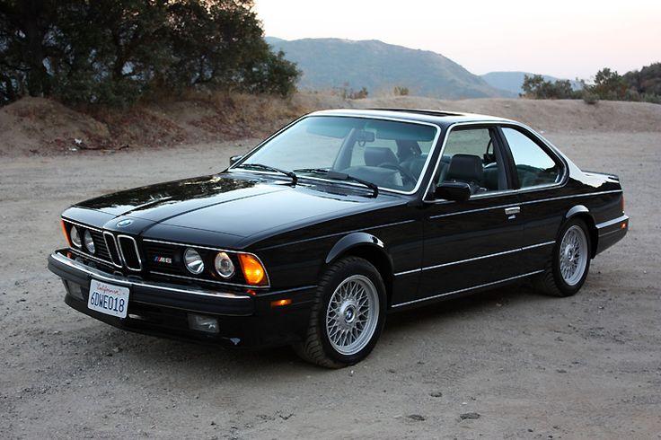 BMW 1988 // M6 E24  not in my top 5, but still fancy .)